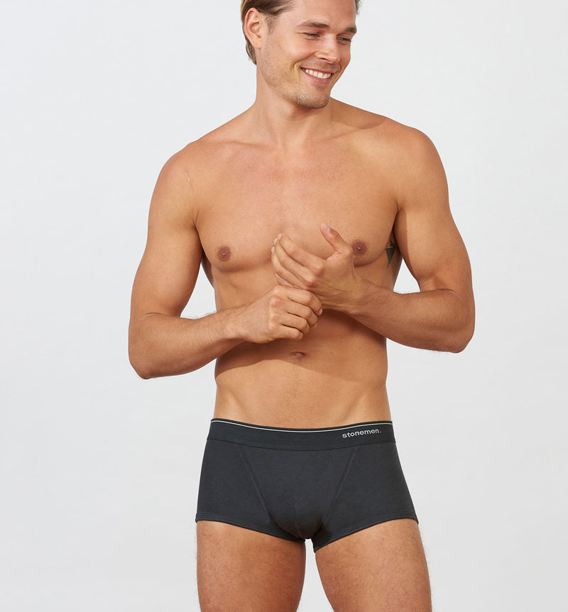 Cheeky Brief  /  Essential Charcoal Black