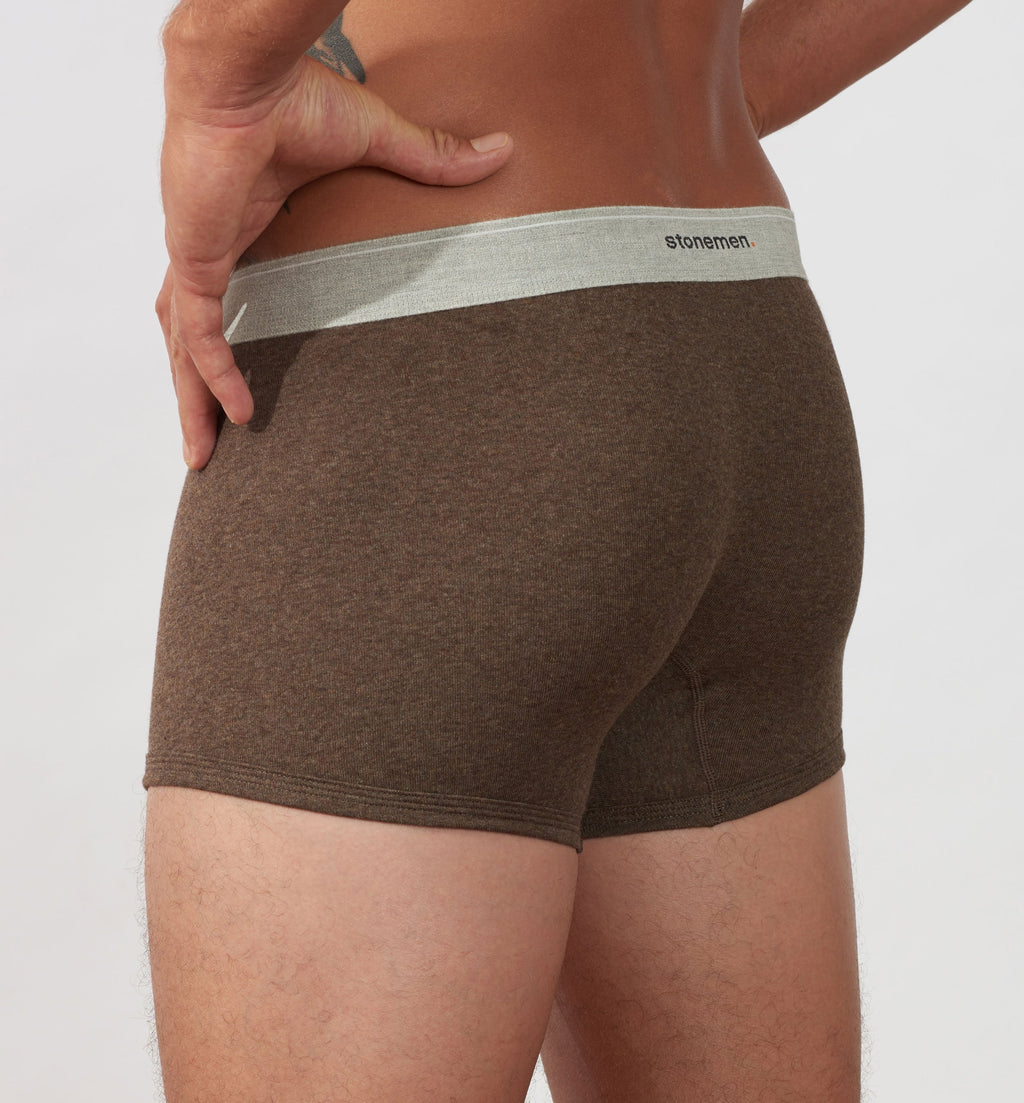 4 Pack Boxer Briefs  /  Colour  /  Basic Essentials