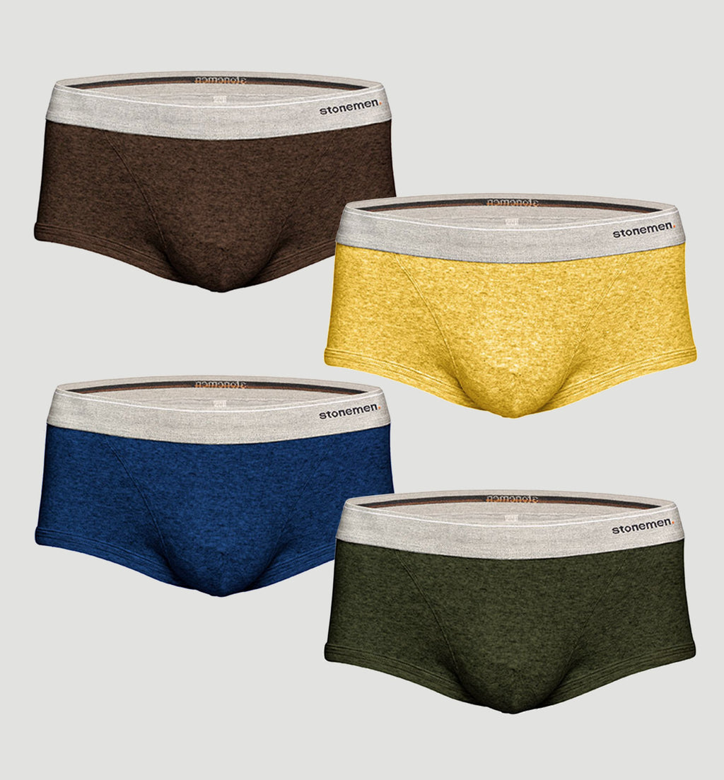 4 Pack Trunks  /  Colour  /  Basic Essentials