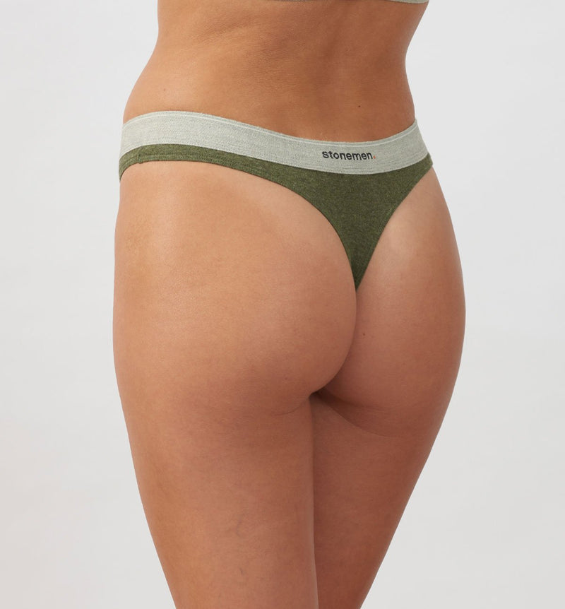 Thong  /  Essentials  / Moss