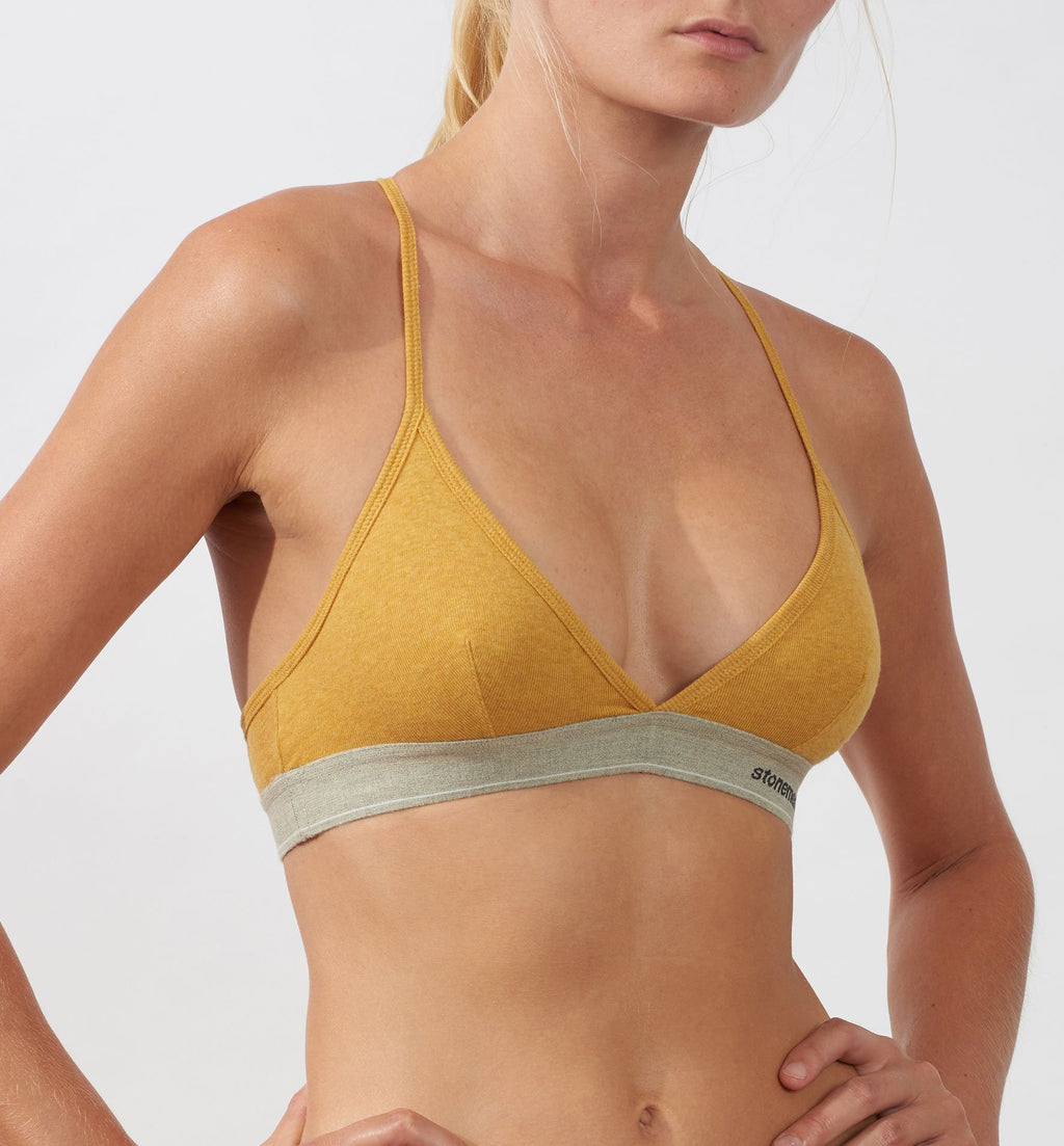 Bralette  /  Essentials  /  Mustard