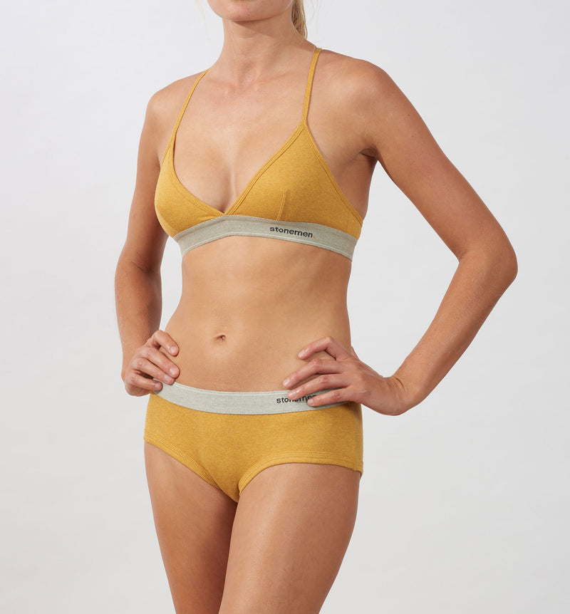 Women's Brief  /  Essentials  /  Mustard