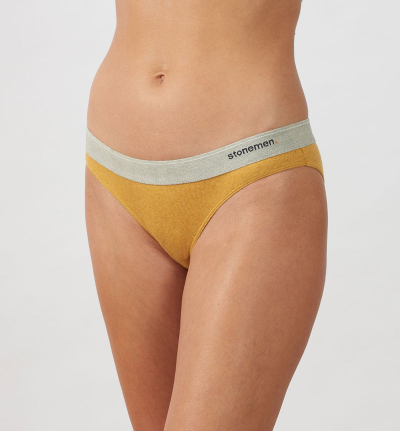4 Pack Women's Cheeky Briefs  /  Colour  /  Basic Essentials
