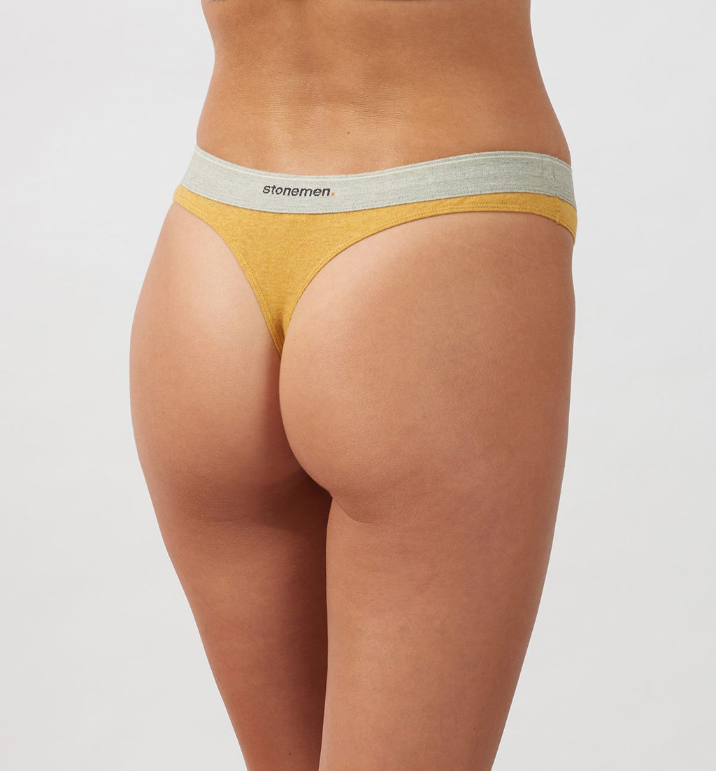 Thong  /  Essentials  /  Mustard