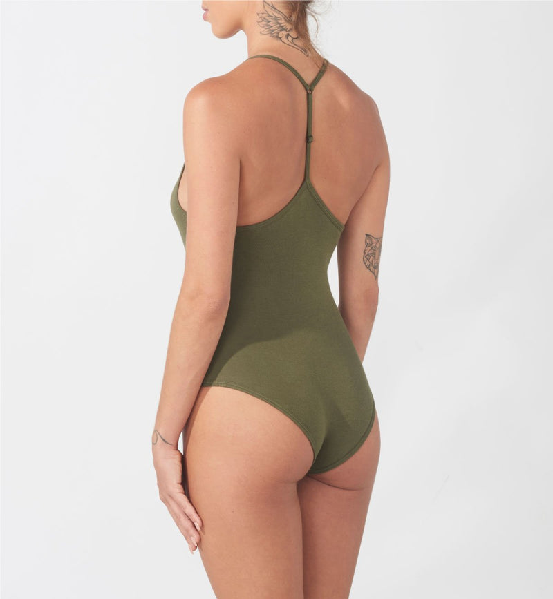 Bodysuit  /  Essential Army Green