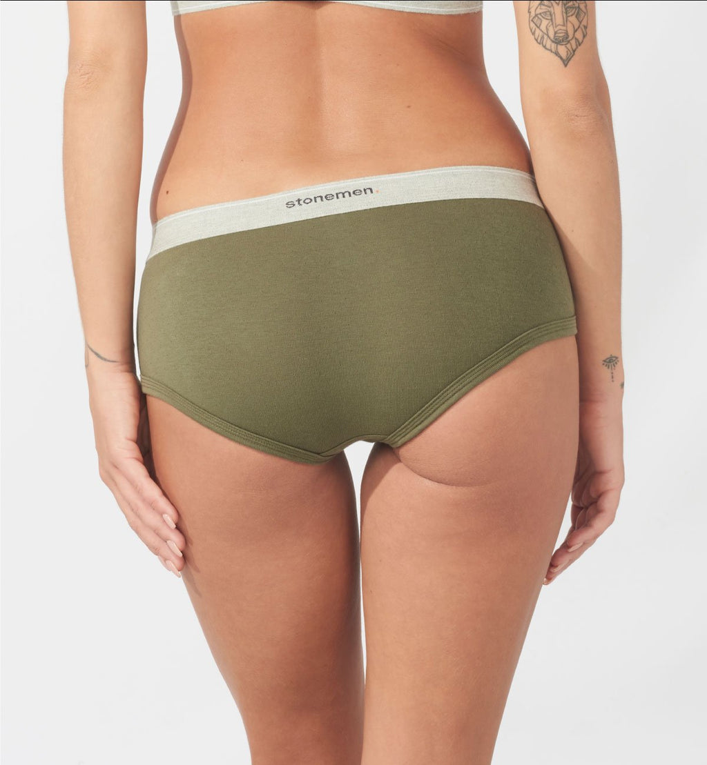 Women's Brief  /  Essential Army Green