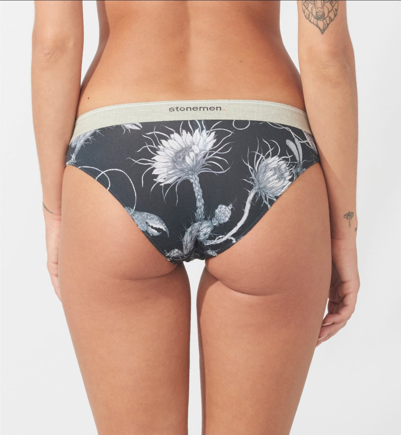Cheeky Brief  /  Cactus Black