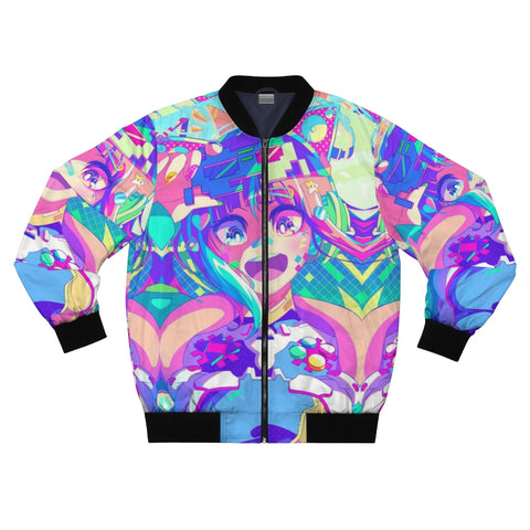 Print Bomber jacket for men and womenn