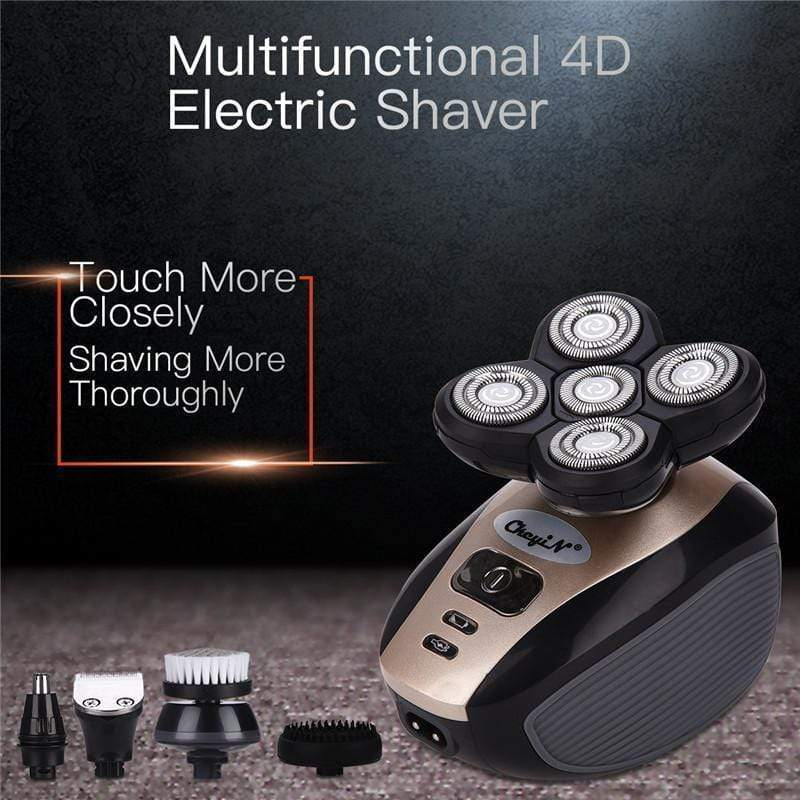 4D Electric Skull Shaver  -  US  -  Honey Locker -  Head Shaver