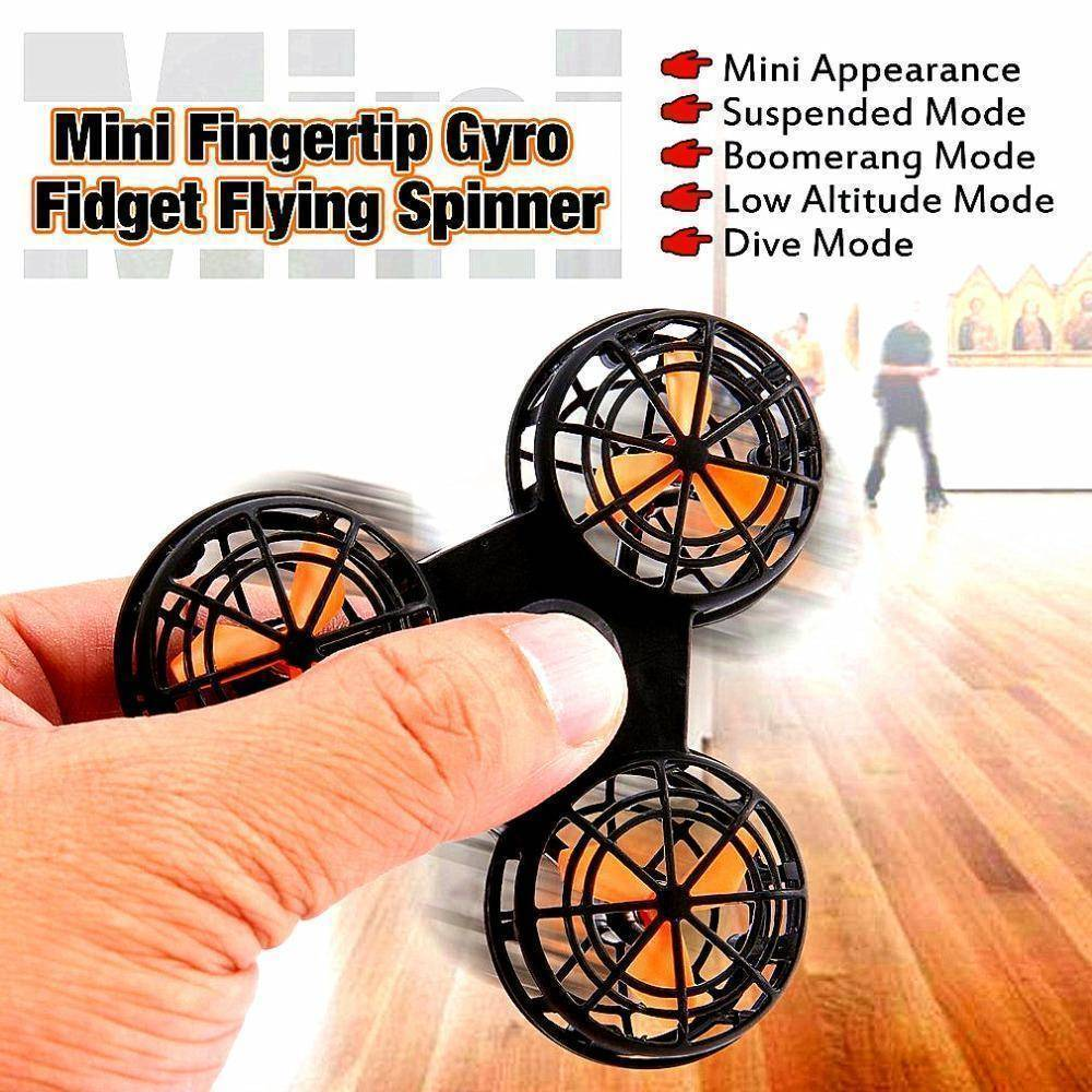 MAC 1 Flying Fidget Spinner  -  Black / Buy 1  -  Honey Locker -  Fidget Spinner