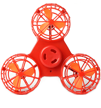 MAC 1 Flying Fidget Spinner  -  Red / Buy 1  -  Honey Locker -  Fidget Spinner