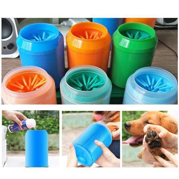 Portable Pet Paw Cleaner Cup  -  Blue / S  -  Honey Locker -  Pet Paw Washer