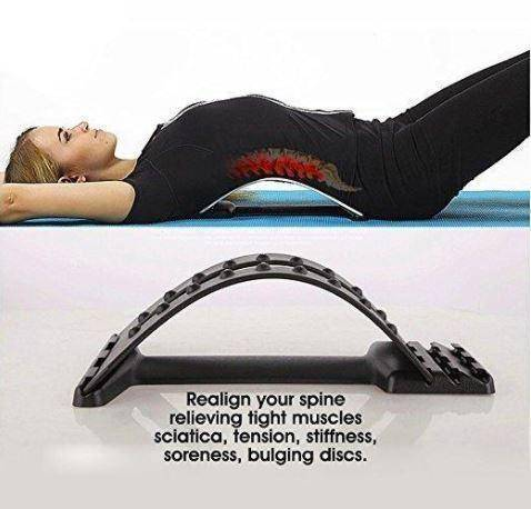 RealignPlus™ Back Stretcher  -  BUY ONE / STANDARD  -  Honey Locker -  Therapy Supplies