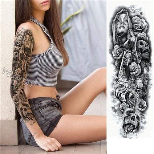 Temporary Waterproof Tattoo Sleeves For Adults  -  0