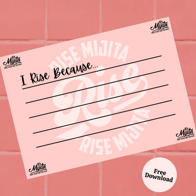 I Rise Because (Free Download)