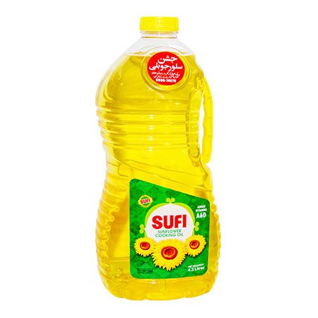 Sufi Cooking Oil Sunflower 4.5L