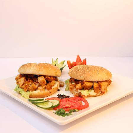 Chicken Tikka Burger For 02
