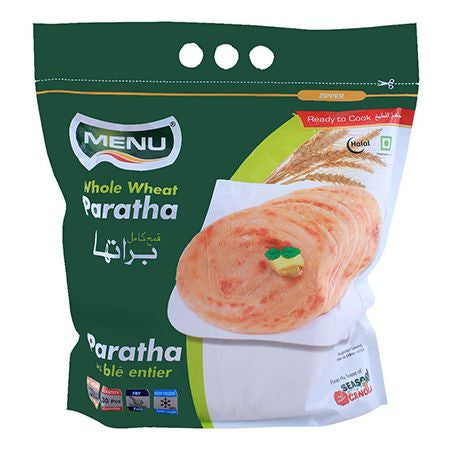 Menu Whole Wheat Paratha