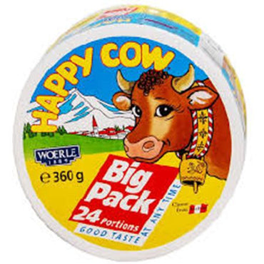 Happy Cow Cheese Portions Regular Pack 360g