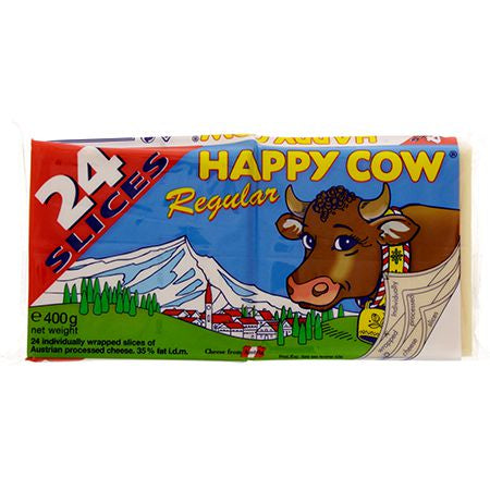 Happy Cow Slice Cheese 400g