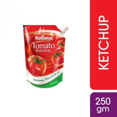 National Tomato Ketchup 250gm