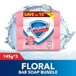 Safeguard Soap 3×1 (145g)