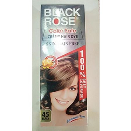 Black Rose Hair Color