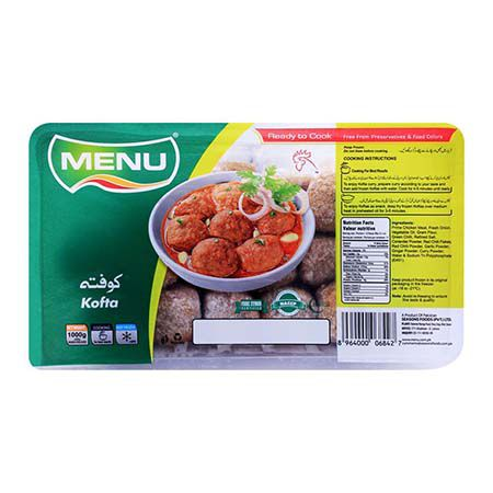 Menu Chicken Kofta