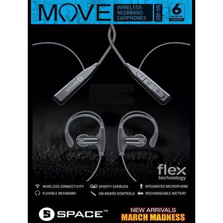 Move Flex MV-692 Bluetooth Earphones