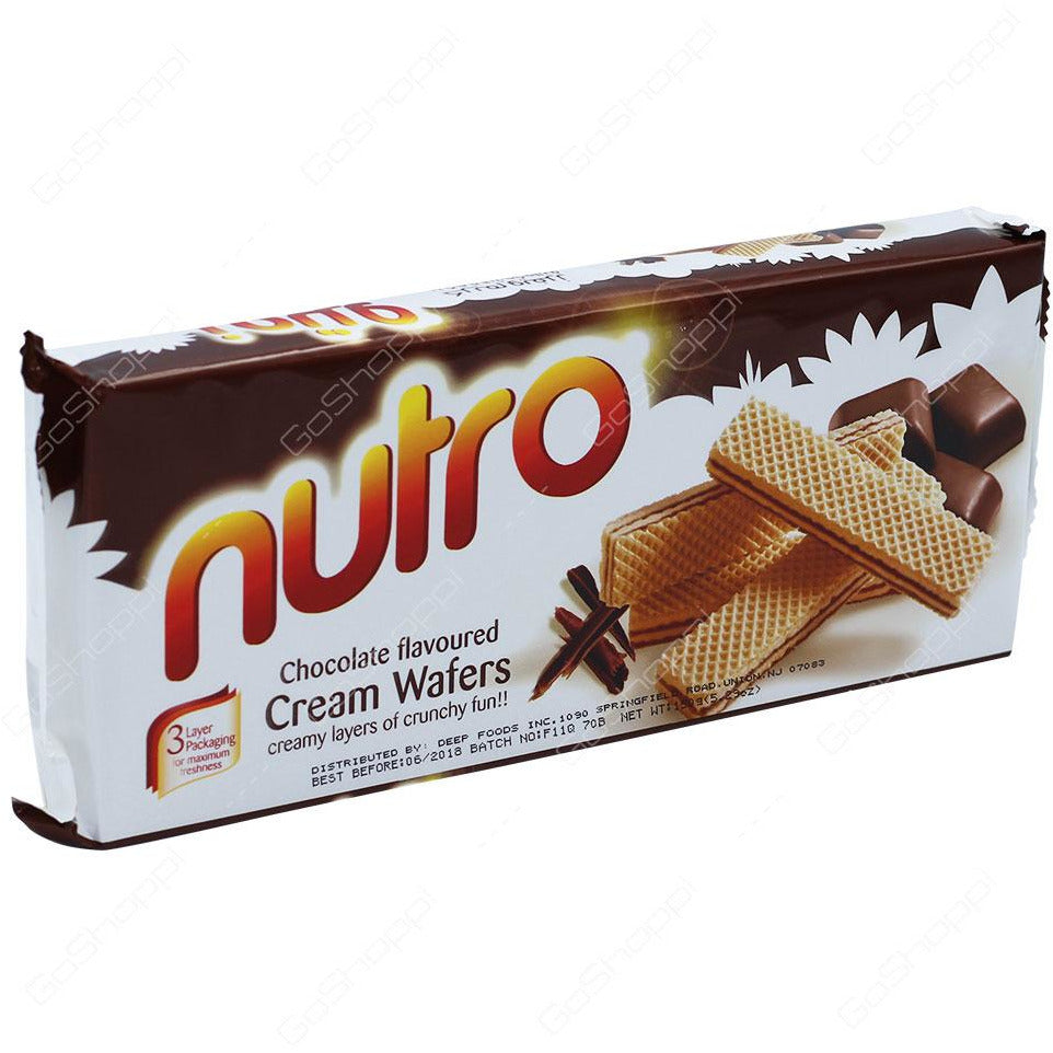 NUTRO Chocolate Wafers 75g