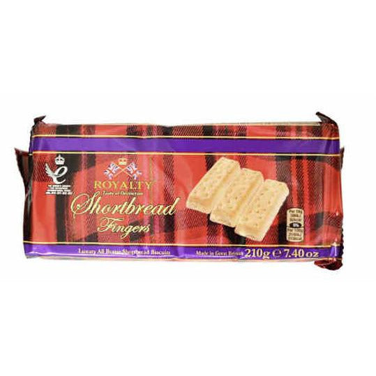 Royalty Shortbread Fingers 210g