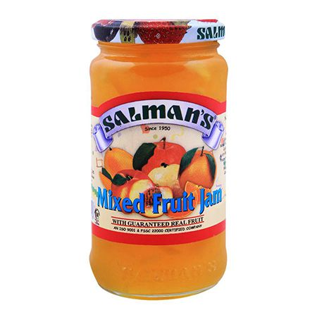 Salmans Mix fruit Jam 450g
