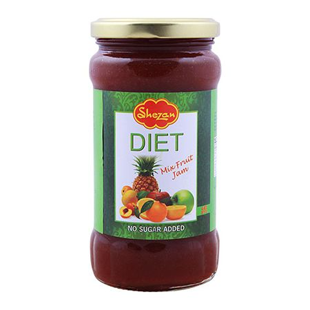 Shezan Mix Fruit Diet Jam 440g