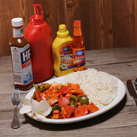 Chicken Shashlik / Rice