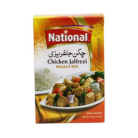 National Chicken Jalfrezi Masala 50g