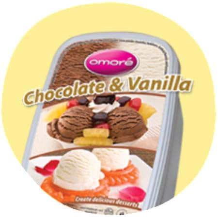 Omore Chocolate & Vanilla  (Large)