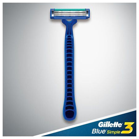 Gillette Blue Simple Razor