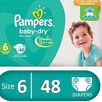 Pamper Dry 6 (48pcs)