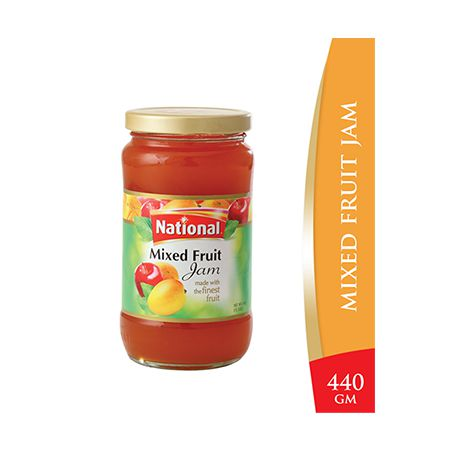 National Mixed Fruit Jam 440g
