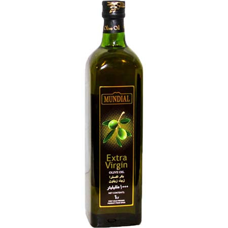 Mundial Olive Oil Extra Virgin (1Ltr)