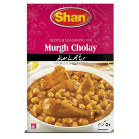 Shan Murgh Cholay Masala 50gm