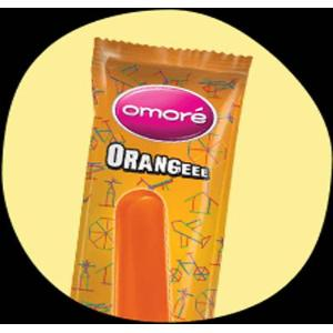 Omore Orange Ice Cream Stick