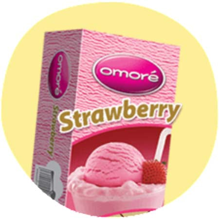 Omore Strawberry 800ml
