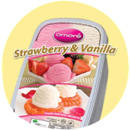 Omore Strawberry & Vanilla (Large)