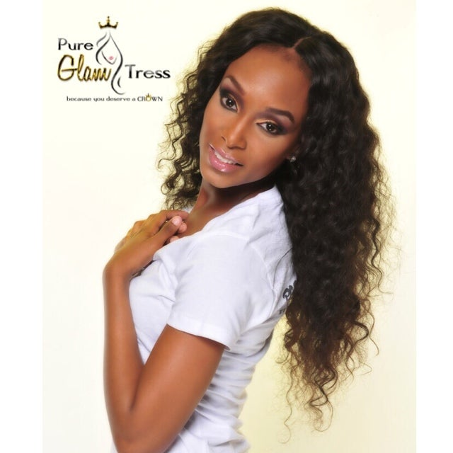 Virgin 'Bf Curl' Lace Closure