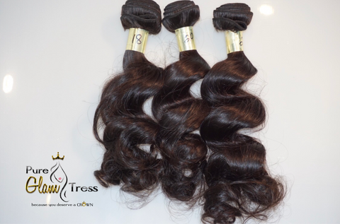 My Pretty Crown Bundle Collection - 3 Bundle Deal w/ Lace Closure