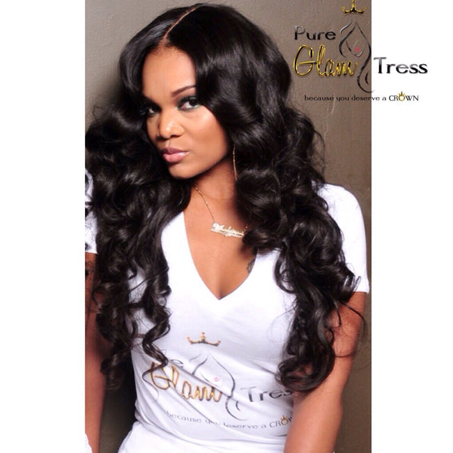 Virgin Brazilian Lace Closure (Wavy)