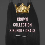 PureGlamTress Crown Bundle Collection - 3 Bundle Deal