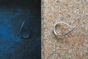 Drop in the ocean – Silver Earrings