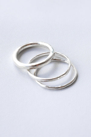 Simply Thin – Silver Ring